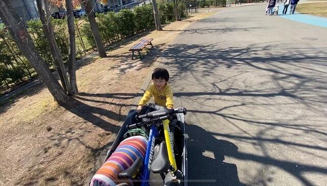 子連れで公園ピクニック